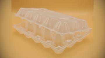 Контейнер для упаковки 10 куриных яиц С-1