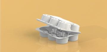 Упаковка для пирожного, маффинов прямоугольная УТ-52