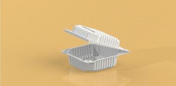 Упаковка для пирожного с ложечкой УТ-55