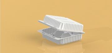 Упаковка для пирожных с разделением УТ-64