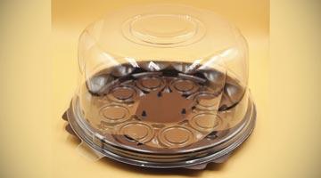 Упаковка для торта круглая УТ-82
